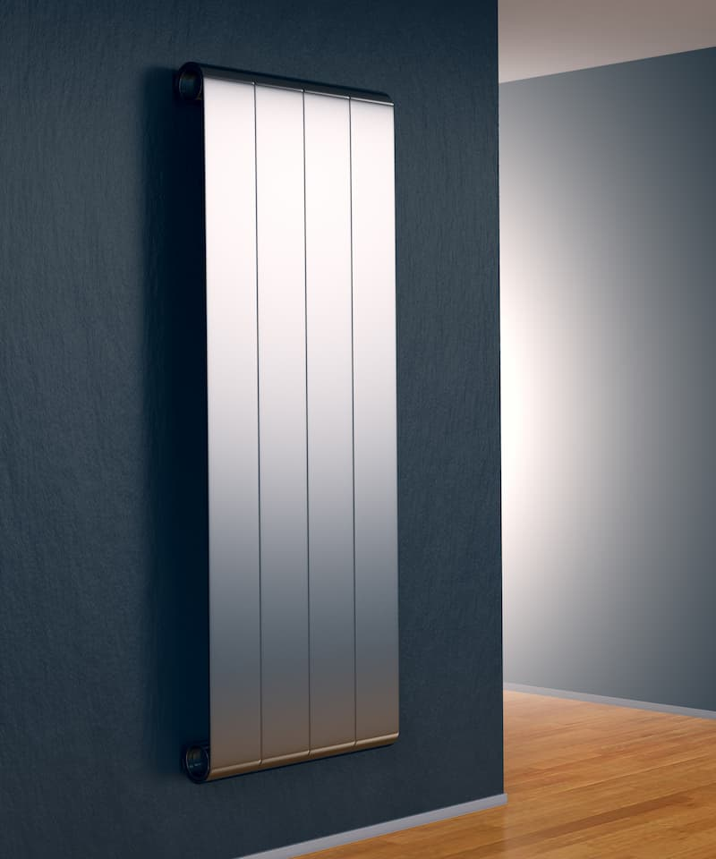 radiator in a room
